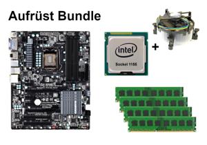 Bundle Gigabyte GA-Z68X-UD3H-B3 + Intel Core i3 i5 i7 CPU + 4GB bis 32GB RAM