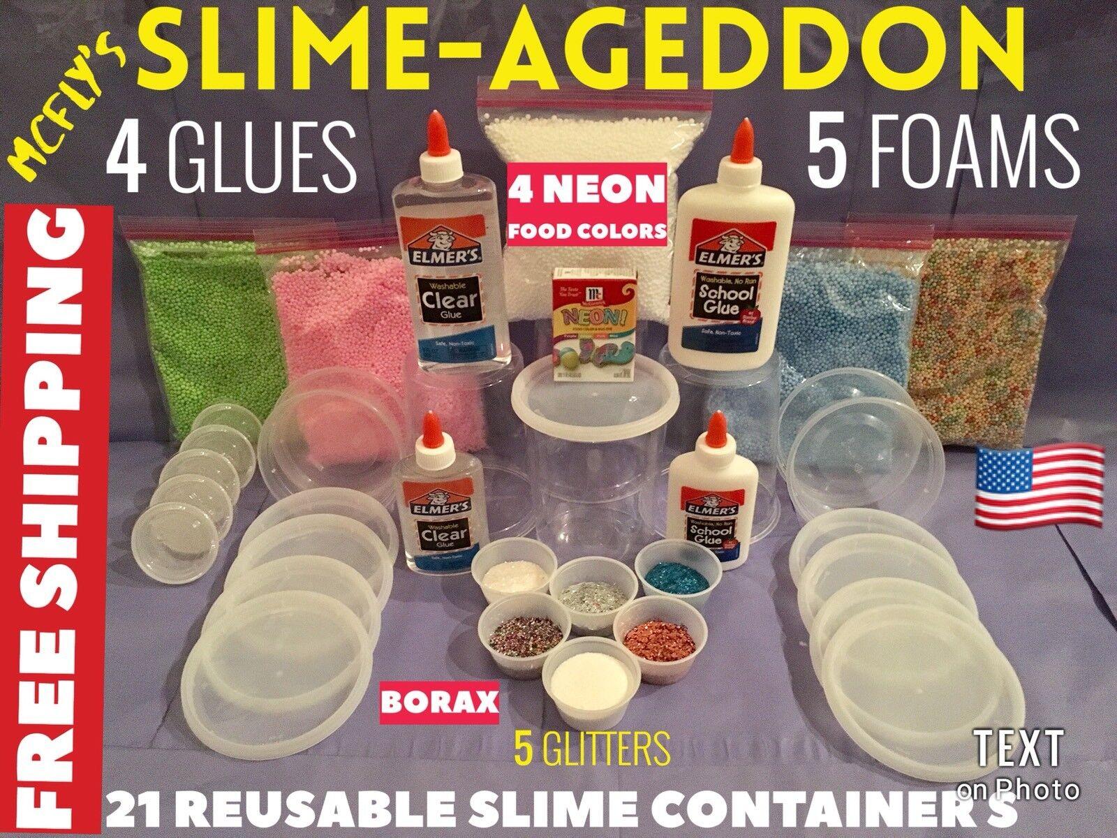 Slimeageddon Slime kit Welts Best Slime Kit Birthday Geschenk Slime Making Kit Huge