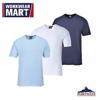 Mens Thermal Underwear T-shirt Top Cold Winter Weather, Warm, Portwest Ub214