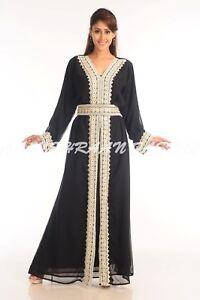 Oriental Robe Dubai Moderne Khaleeji Thobe Mariage Robe Robe Pour Femmes 6023 Ebay