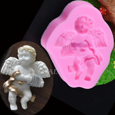 CHERUB ANGEL SILICONE MOULD FOR CAKE TOPPERS, CHOCOLATE, CLAY ETC