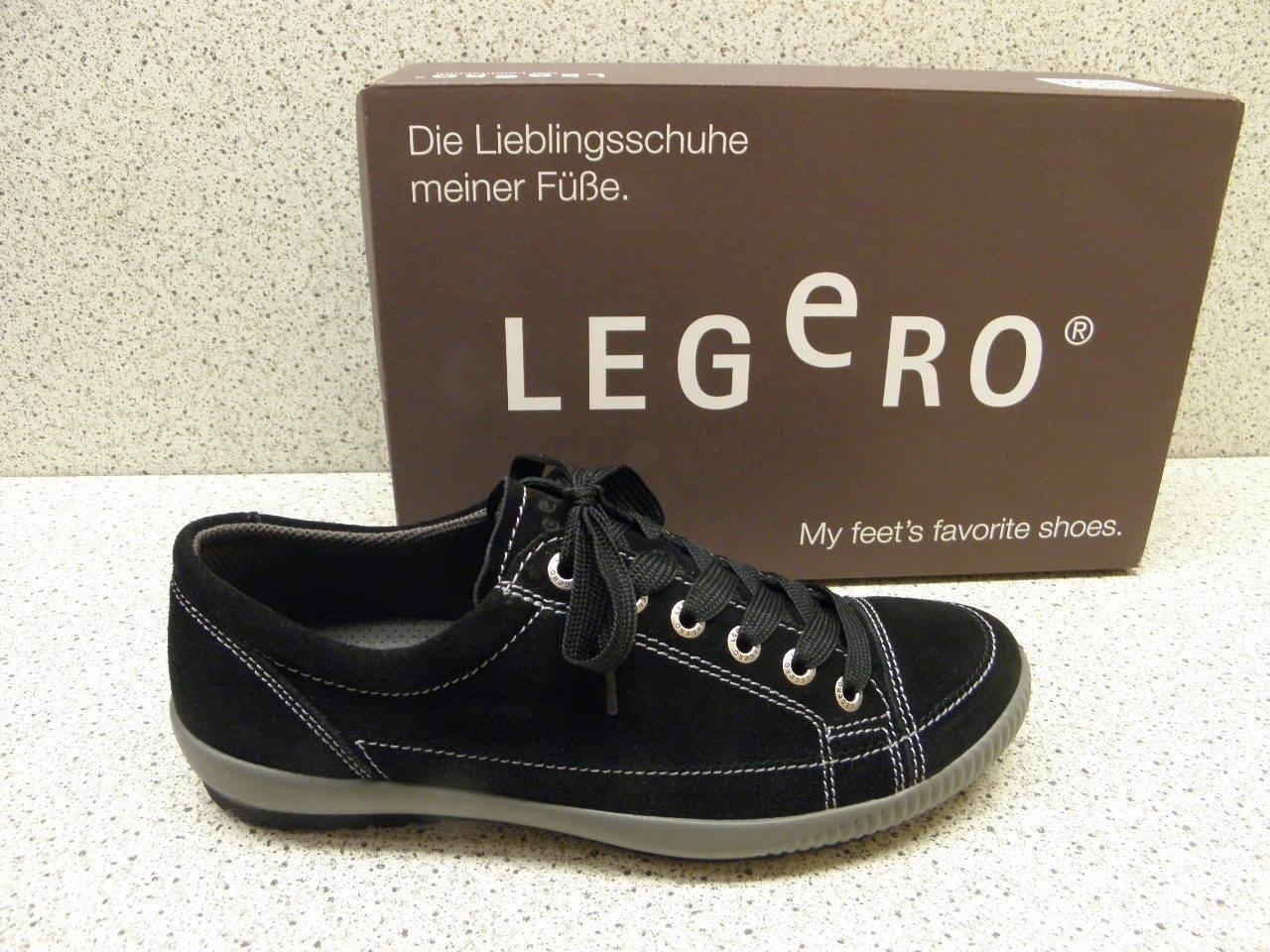 Legero ® RIDUCE PREZZO TOP NUOVO Schnürschuh PELLE NERO (l1)