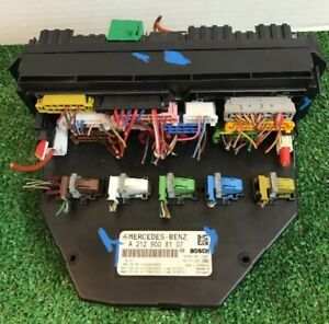 2011-2014-MERCEDES-W204-C-CLASS-C300-SAM-FUSE-RELAY-BOX-MODULE-2129008107-OEM