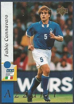 ☆ PANINI EURO 2000-ITALIE//ITALIA Fabio Cannavaro #169