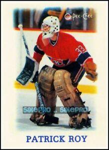 OPC-1988-PATRICK-ROY-NHL-MONTREAL-CANADIENS-GOALIE-SUPERSTAR-MINI-MINT-CARD-33