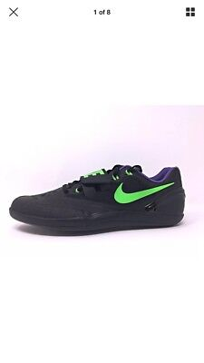 2b148990 Details about Nike Zoom Rotational 6 Track and Field Throwing Shoes Size  11.5 Black/purple NIB