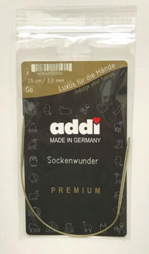 Socks Wonder addi Circular Sock Knitting Needles with Different Length Tips