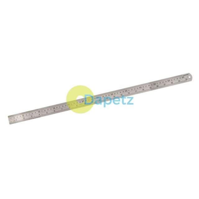 Sonline 300 x 150mm Stainless Steel Metric Try Square Ruler