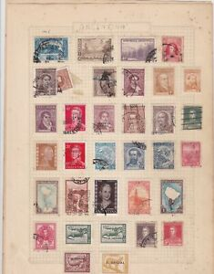 argentina stamps page ref 17662