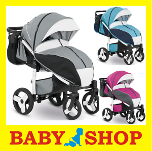 Camarelo-ELF-stroller-buggy-pushchair-wozek-spacerowy-INFLATABLE-WHEELS
