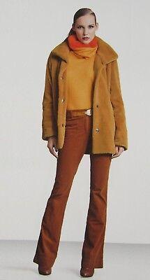Marc Cain Luxus Stretch Hose Gr 3/38 In Bernstein Farbe Neu Chic Glamour! Aufrichtig Orig