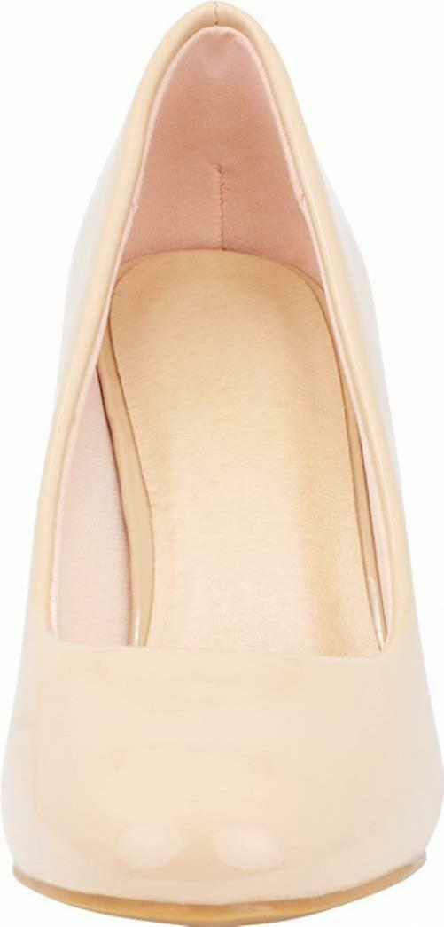 Cambridge Select Women's Classic Round Toe Chunky Wrapped Wrapped Wrapped Block High Heel Pump 87032f