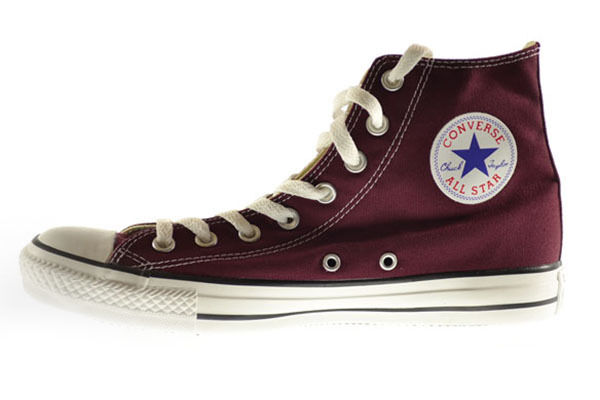 Converse Chuck Taylor Hi Mens Shoes Burgundy 139784f