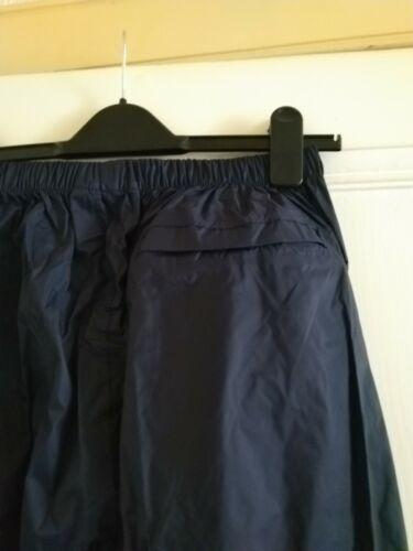 Gelert Adultes RainPod étanche /& Respirant Surpantalon-True Navy-S-XL