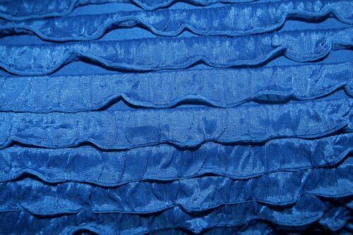 Ruffle Knit Fabric 95/% Polyester 5/% Spandex Lycra Stretch 8 Colors Skirt BTY