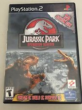 Jurassic Park Operation Genesis (PS2) CASE ONLY (NO GAME DISC OR MANUAL)