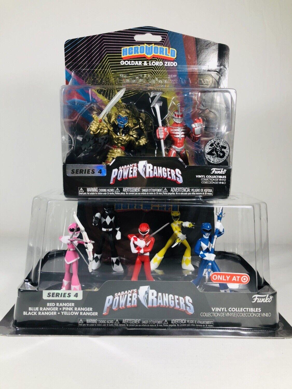 Spielzeug 5 Figure Pack Verantwortlich Sabans Power Rangers Funko Heroworld Special Edition Series 4 Action- & Spielfiguren