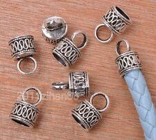10pcs Tibetan Silver End Connection Bead Caps Fit Necklace Bracelet 14mm B3148