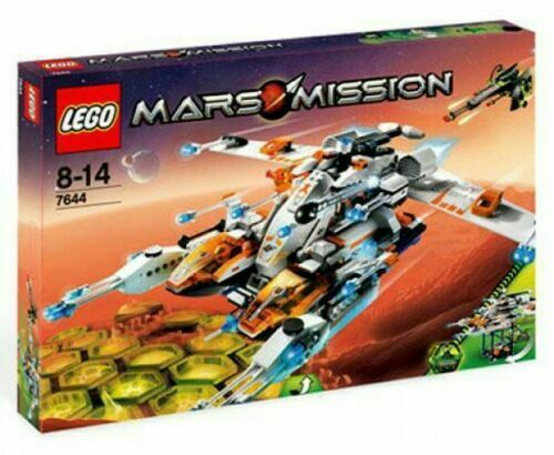 LEGO Mars Mission MX-81 Hypersonic Spacecraft Set   7644 NEUF SCELLE RARE.  édition limitée