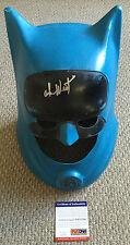 ADAM WEST Signed 1966 Ideal Toys BATMAN Mask HELMET Cowl TV Show PSA/DNA COA