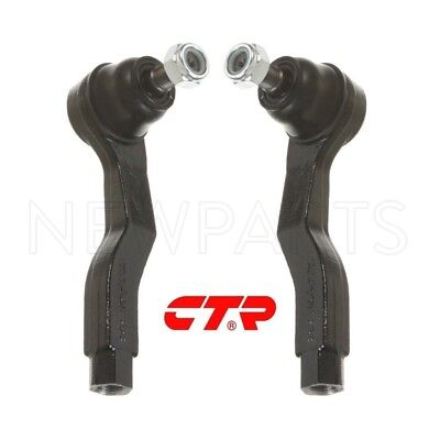Pair Set of 2 Outer Tie Rod Ends CTR 53540SL0A01//53540SL0A01 for Acura NSX