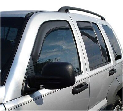 Auto Ventshade 194428 Ventvisor In-Channel Deflector 4 pc Fits 02-07 Liberty
