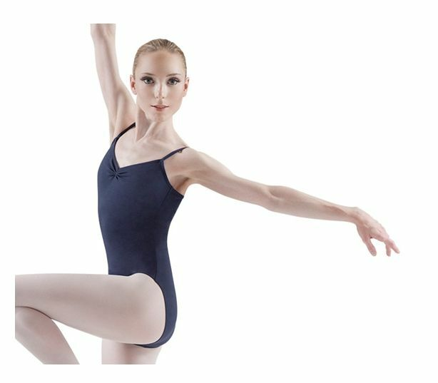 Black Bloch L5417 pinched front camisole leotard - all sizes