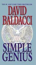 Simple Genius (King & Maxwell Series) - Acceptable - Baldacci, David -