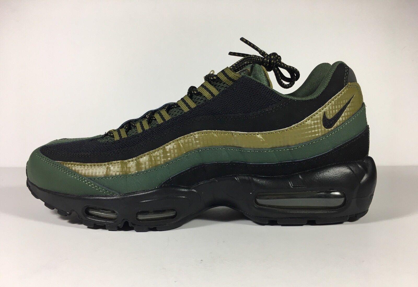 Nike Air Max 95 Essential Carbon Green   Black Size 9 749766 300