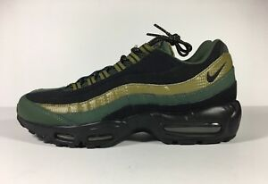 e7474cb2d614 Nike Air Max 95 Essential Carbon Green   Black Size 9 749766 300