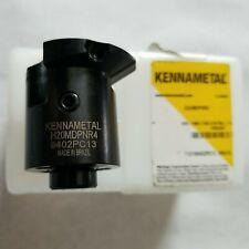 Kennametal H20 Interchangeable Coolant Boring Head H20mdpnr4 Open Box Nos