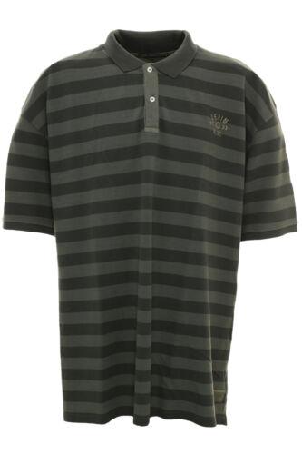 Kitaro Polo Poloshirt Herren Kurzarm Übergröße