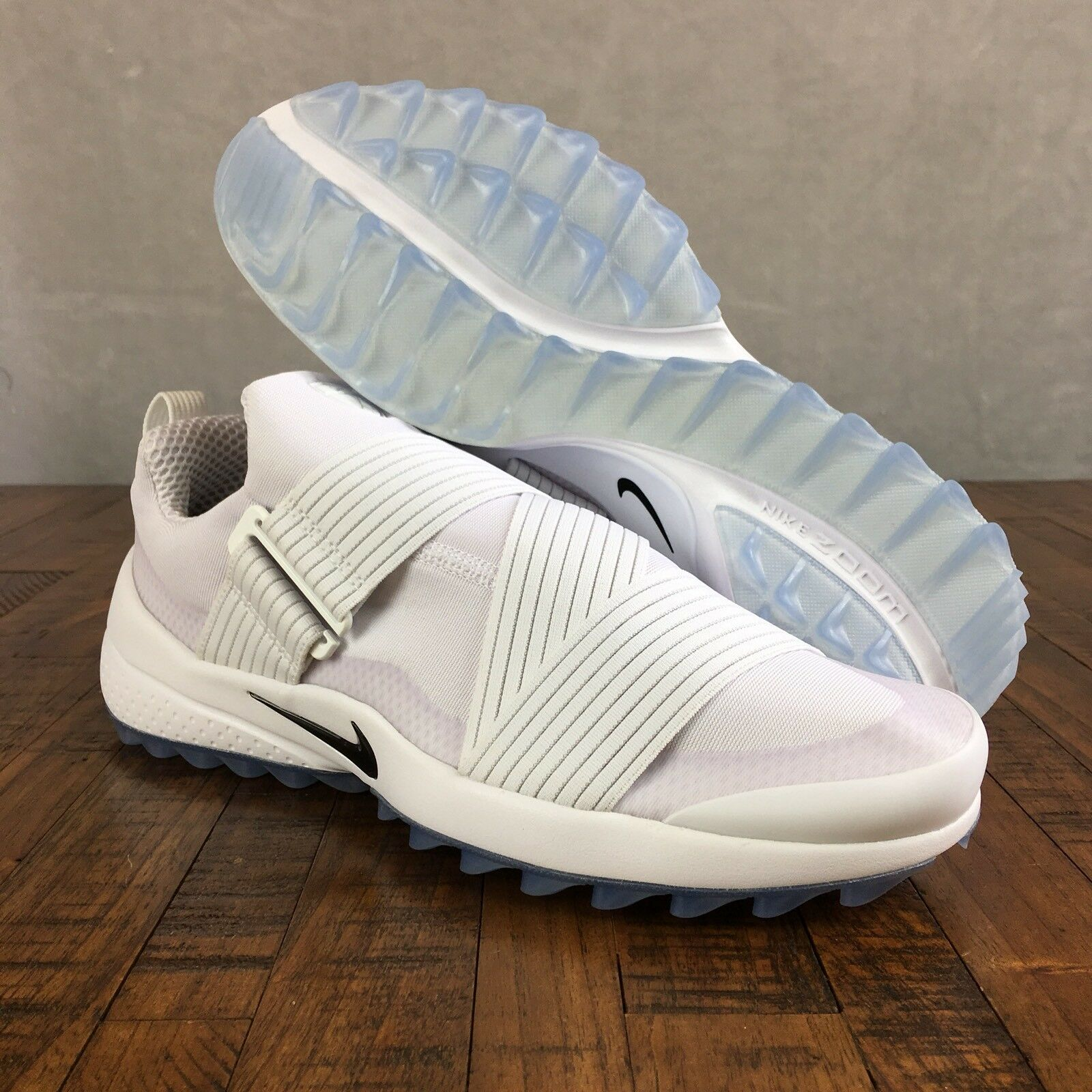 Nike Air Shoes Zoom Gimme Spikeless Golf Shoes Air White Oreo 849955-100 Mens Size 11 beaa6c