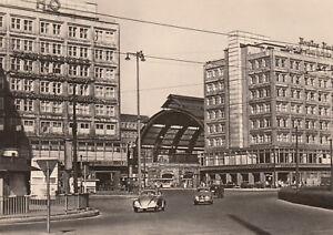 AK-UNREAD-Berlin-Railway-Station-ALEXANDERPLATZ-G3578