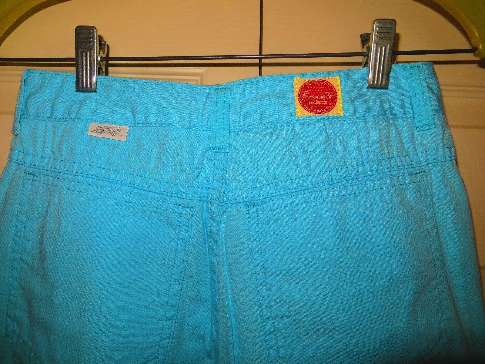 womans skinny jeans pants blue cotton 31/28 Chemi… - image 6