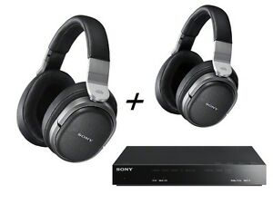 SONY-MDR-HW700DS-Extra-Headset-MDR-HW700-Wireless-Surround-Two-Headphones-SET