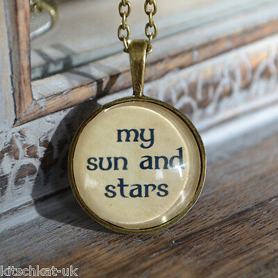 Game of Thrones My Sun and Stars Handmade Bronze Dothraki Khaleesi Necklace