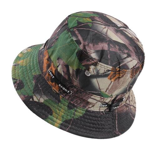 Men Women Bucket Boonie Hat Hiking Fishing Beach Festival Outdoor Summer Sun Cap