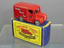 "MATCHBOX MOKO LESNEY MODEL No.47a TROJAN VAN ""BROOKE BOND TEA VN  MIB"