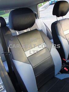 I-adapte-a-CITROEN-C5-TOURER-voiture-S-Housses-Prestige-noir-GRIS-PVC