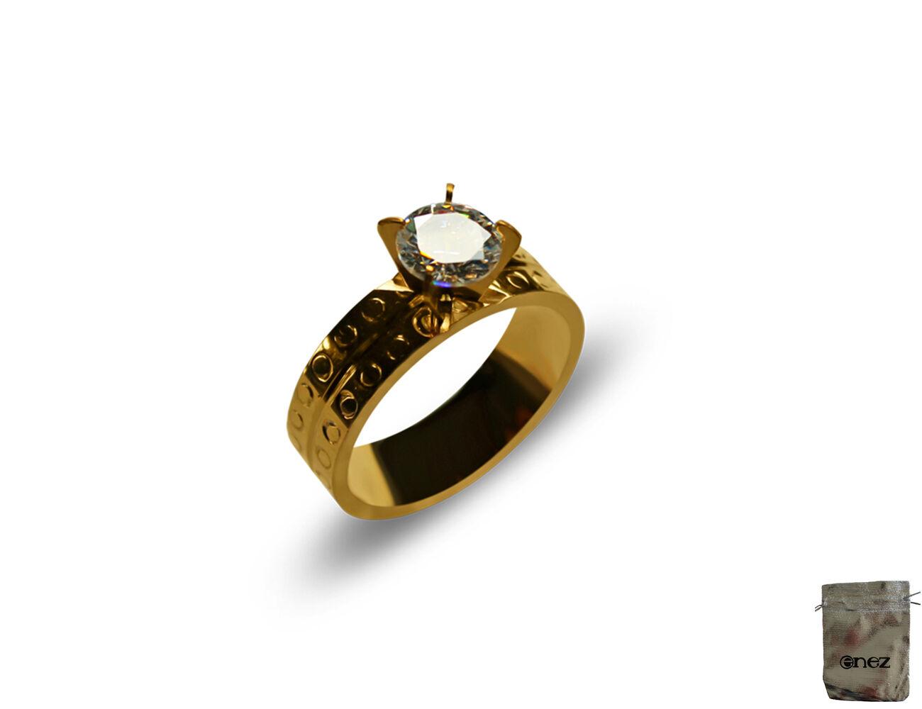 4mm R2709 Original Enez Ring Trauring Ehering Edelstahlring B
