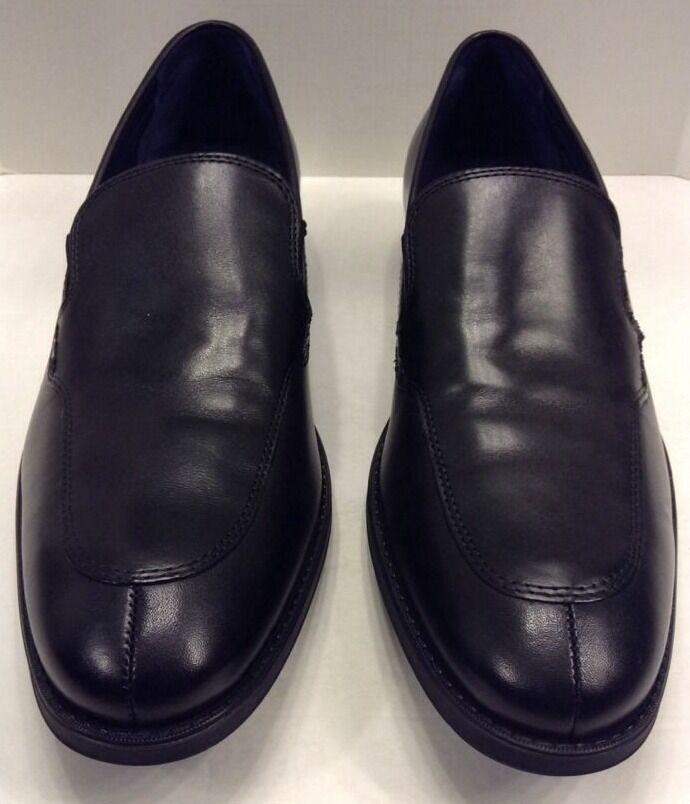 Cole Haan hombres 13 M Clayton antideslizante en mocasines de cuero negro Venetian  C11672