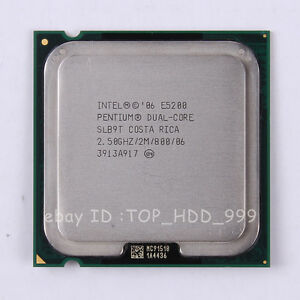 NEW DRIVER: INTEL DUAL CORE E5200