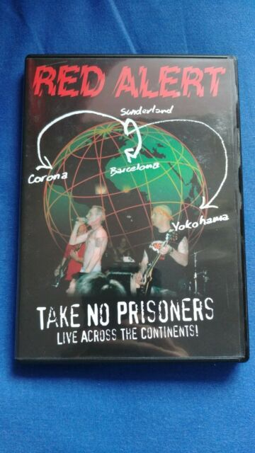 Red Alert - Take No Prisoners - Live Across The Continents (DVD, 2009)