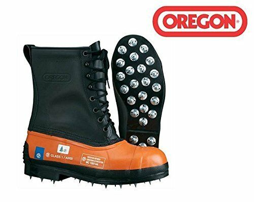 Il ROP Shop New Oregon 537310 Safety Chainsaw  Forestry stivali Dimensione 8 Leather...  comodamente