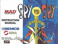 Spy Vs Spy Nes Nintendo Manual Instructions Brand Condition