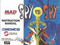 Spy Vs Spy Nes Nintendo Manual Instructions Brand Condition