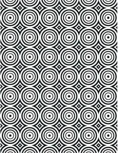 Creative Expressions Circle Illusion Embossing Folder EF-105