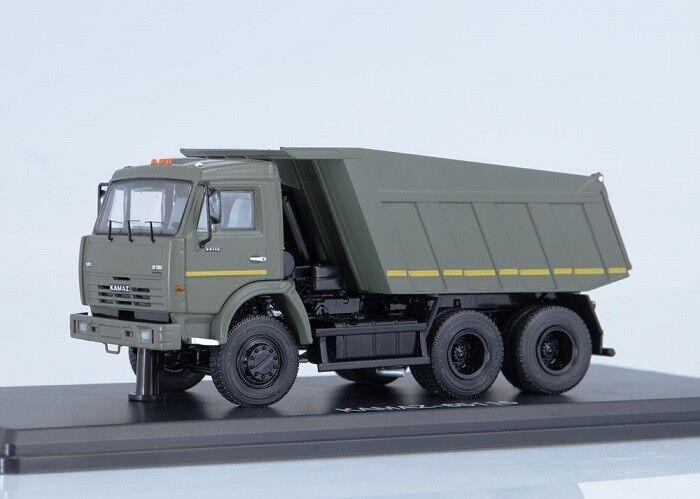 Start scale models (SSM) 1 43. Kamaz - 65115 military Dump Truck.