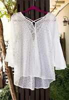 Gypsy Junkies Mimi Triangle Tunic Choose White Or Black
